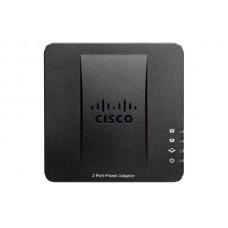 cisco adaptador para teléfono voip con dos (2) puertos fxs y un (1) puerto wan spa112