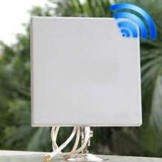 antena l-com patch direccional 2,4ghz hg2412p