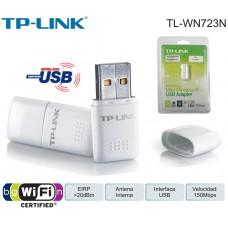 Tarjeta de Red USB TP LINK TL-WN723N Mini