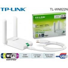 Tarjeta de Red USB TP LINK TL-WN822N
