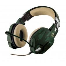 Audifono Diadema Gamer Trust gxt 322c carus jungle camo 3.5 mm pc,laptop,ps4,xbox one verde camuflado 20865