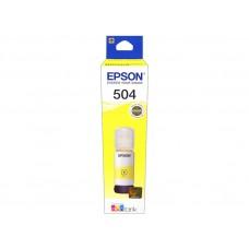 botella tinta epson ecotank l4150 / l4160 - yellow ink epson t504420-al