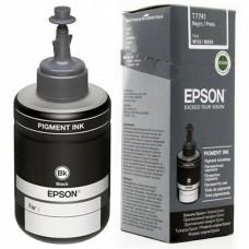 epson botella de tinta negro, m200, t774120-al