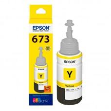 epson botella de tinta yellow l800, t673420-al