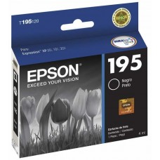 epson cartucho 195 black xpression xp-101,xp-201 , t195120-al