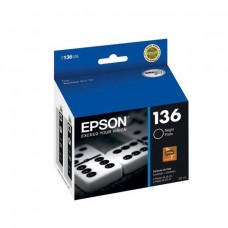 epson cartucho black workforce k101 , k301 alta capacidad , t136126-al