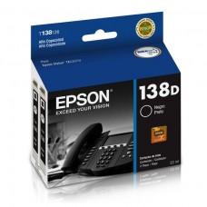 epson cartucho stylus black office tx525fw , t138126-al