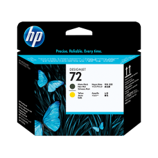 Cabezal Hp 72 black yellow c9384a