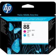 Cabezal HP MAGENTA / CIAN 88 Impresora HPK550 K5400