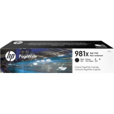 Cartucho HP NEGRO 981X PAGEWIDE 586 556 11.000 pag.