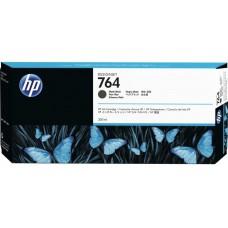 Cartucho HP NEGRO MATTE 764 Designjet T3500 MFP 300ML C1Q16A