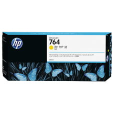 Cartucho HP YELLOW 764 Designjet T3500 MFP 300ML C1Q15A