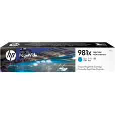 Cartucho Tinta HP Cyan 981X, L0R09A