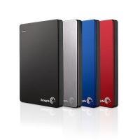 disco duro 2 teras externo segate 2,5 buckup plus rojo gris azul