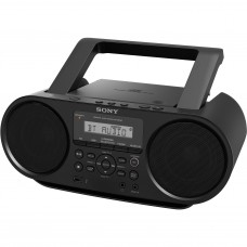 boombox sony con cd y bluetooth sencilla con nfc one-touch, zs-rs60bt