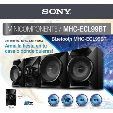 Minicomponente SONY Bluetooth, MHC-ECL99BT