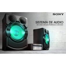 sistema de audio en casa sony alta potencia con bluetooth, shake-x7d
