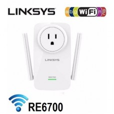 Linksys Extensor de alcance Doble banda simultanea AC1200 (2.4 y 5Ghz) RE6700