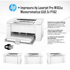 Impresora HP LaserJet Impresora M102w, G3Q35A BGJ
