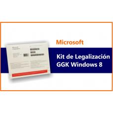 Microsoft KIT DE LEGALIZACION Windows Profesional 8.1 x64