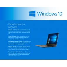 Microsoft WINDOWS Profesional 10 64Bit Español Latam 1pk DSP OEI DVD