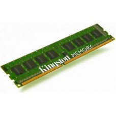 kingston memoria 8gb ddr3, 1333mhz, non-ecc, cl9, 1.5v, unbuffered, dimm kvr1333d3n9/8g