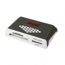 kingston lector usb 3.0 high speed all-in-one media card reader fcr-hs4