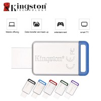kingston memoria usb 32gb 3.0 datatraveler 50 (metal/blue) dt50/64gb