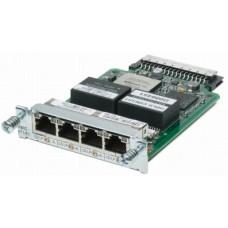 Cisco 4-Port 3rd Gen Multiflex Trunk Voice/WAN Int. Card - T1/E1 VWIC3-4MFT-T1/E1=