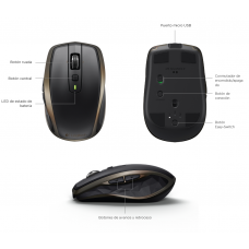 mouse logitech mx anywhere inalambrico
