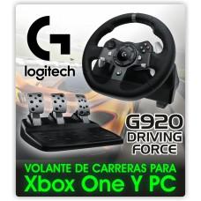 Timon Logitech G920 Driving Force Para Xbox One