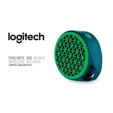 Parlante Logitech X50 Mobile Bluetooth Verde