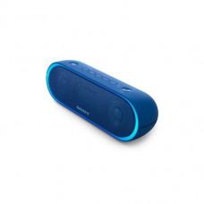 parlante sony inalambrico portatil con bluetooth azul, srs-xb20/l