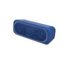 parlante sony inalambrico portatil con bluetooth azul, srs-xb40/l