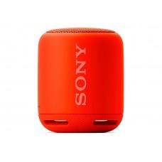 parlante sony inalambrico portatil con bluetooth rojo, srs-xb10/r