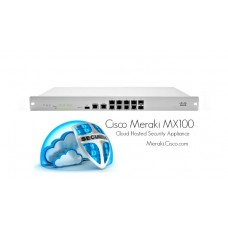 Cisco Meraki MX100 Cloud Managed Security Appliance MX100-HW