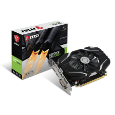 Tarjeta de video MSI nvidia gtx1050ti 768 cuda gtx1050ti 4g oc