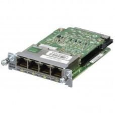 Cisco Four port 10/100/1000 Ethernet switch interface card EHWIC-4ESG=