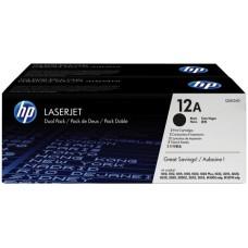 Toner HP 12A Black Dual Laserjet 1000 Y 3000, Q2612AD