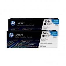 Toner HP 304A Black Dual Laserjet, CC530AD