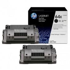 Toner HP 64X Black Caja X 2 Laserjet CC364XD
