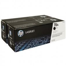 Toner HP 78A Black Caja X 2 Laserjet P1566 P1606 M1536, CE278AD