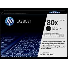 Toner HP 80X Black Laserjet Pro 400, CF280A
