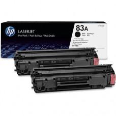 Toner HP 83A Black Caja X 2 Laserjet CF283AD